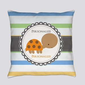 Cute Turtle Personalized Everyday Pillow