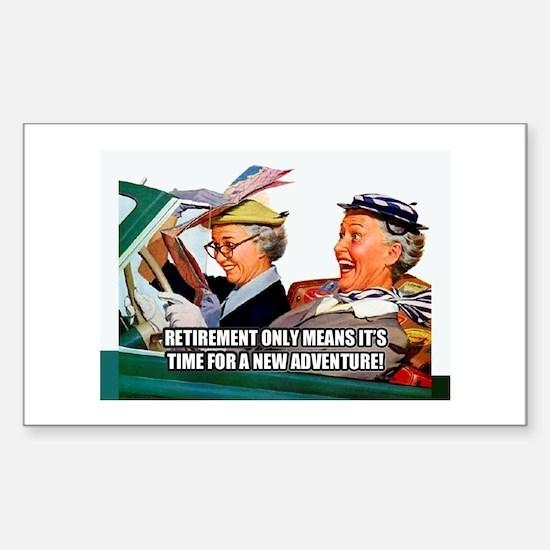 Retirement Adventure Decal