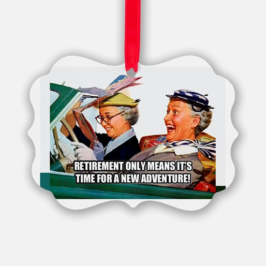 Retirement Adventure Ornament