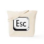 Escape Key Tote Bag