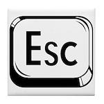 Escape Key Tile Coaster