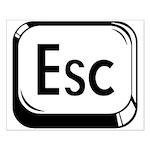 Escape Key Small Poster