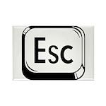 Escape Key Rectangle Magnet (10 pack)