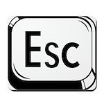 Escape Key Mousepad