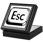 Escape Key Keepsake Box