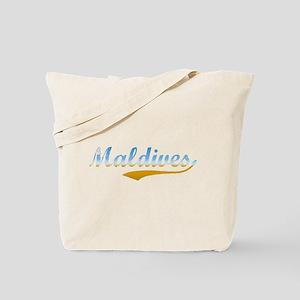 Beach Maldives Tote Bag