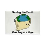 Saving the Earth Rectangle Magnet (10 pack)