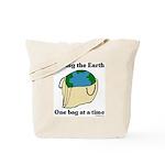 Saving the Earth Tote Bag