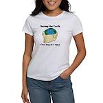 Saving the Earth Women's T-Shirt