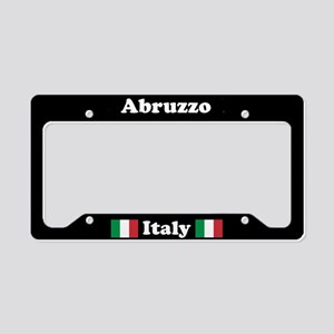 Abruzzo IT - LPF License Plate Holder