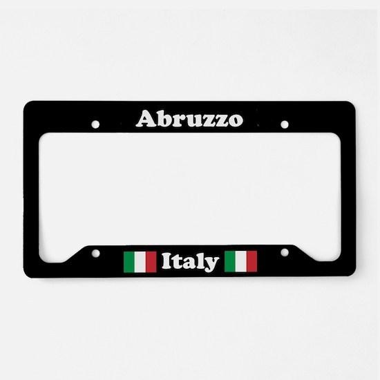 Abruzzo IT - LPF License Plate Holder