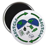 """Recycle 2.25"""" Magnet (10 pack)"""
