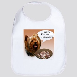 Yorkie Turkey Bib