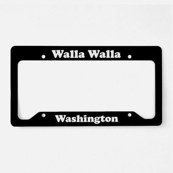 Walla Walla WA - LPF License Plate Holder