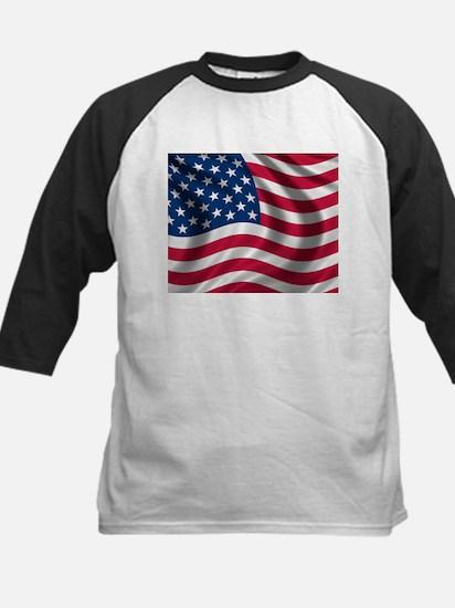 USA Flag Baseball Jersey