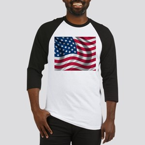 USA Flag Baseball Jersey