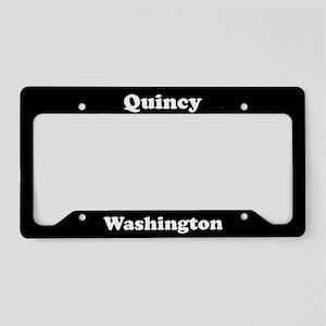 Quincy WA - LPF License Plate Holder