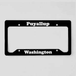 Puyallup WA - LPF License Plate Holder
