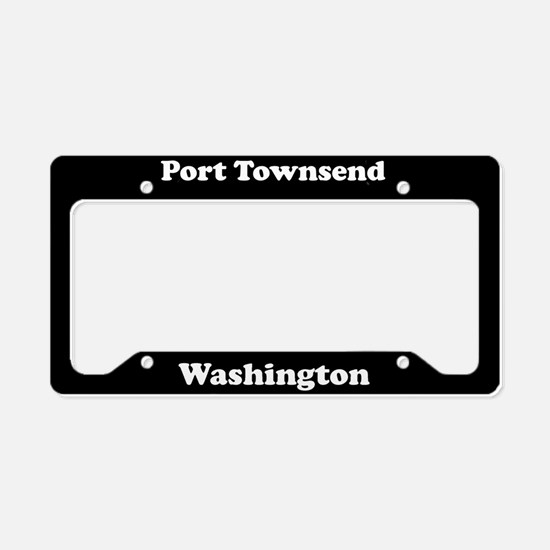 Port Townsend WA - LPF License Plate Holder