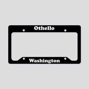 Othello WA - LPF License Plate Holder