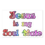 Jesus is my Soul Mate Postcards (Package of 8)
