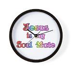 Jesus is my Soul Mate Wall Clock