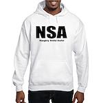 Naughty Sinful Awful Hooded Sweatshirt