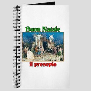 Buon Natale (Merry Christmas) Il Presepio Journal