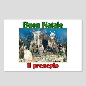 Buon Natale (Merry Christmas) Il Presepio Postcard