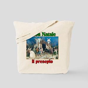 Buon Natale (Merry Christmas) Il Presepio Tote Bag
