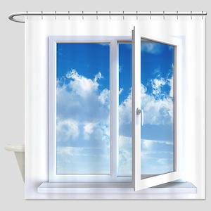 Window Shower Curtain