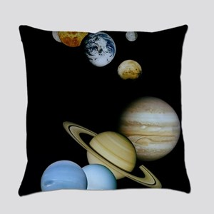 SOLAR SYSTEM Everyday Pillow