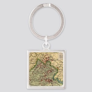 Vintage Virginia Civil War Battlefield M Keychains