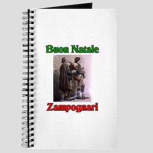 Buon Natale (Merry Christmas) Zampognari Journal