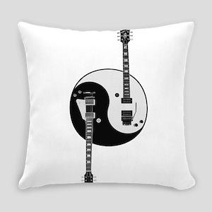 Yin Yang Guitars Everyday Pillow
