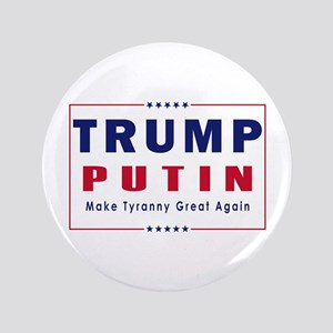 Trump Putin 2016 Button