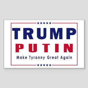 Trump Putin 2016 Sticker