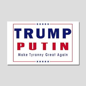 Trump Putin 2016 Car Magnet 20 x 12