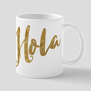 Golden Look Hola Mugs