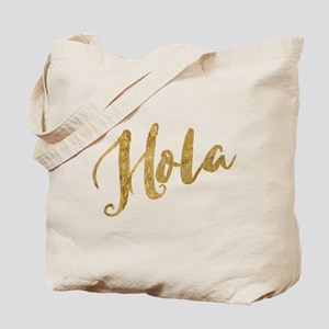 Golden Look Hola Tote Bag