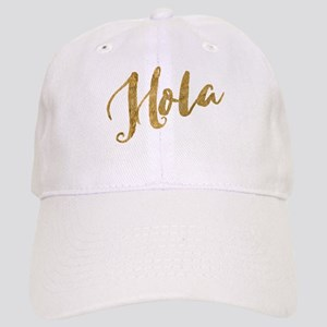 Golden Look Hola Baseball Cap