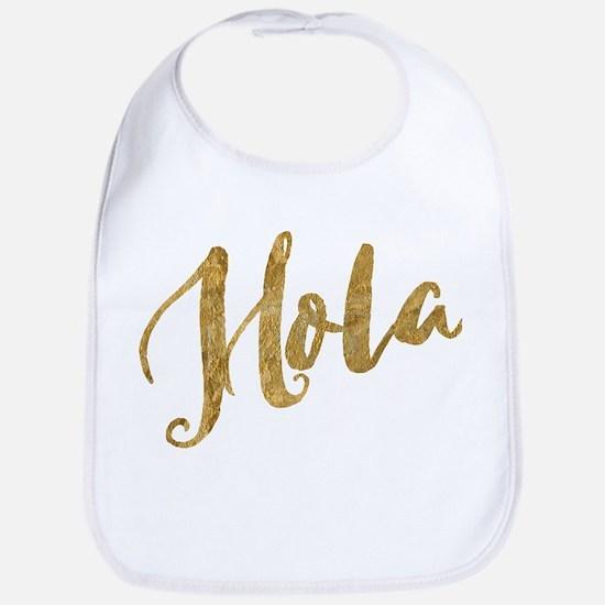 Golden Look Hola Bib