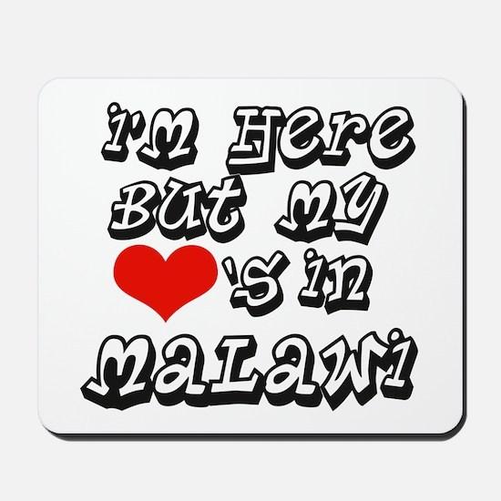 Heart in Malawi Mousepad
