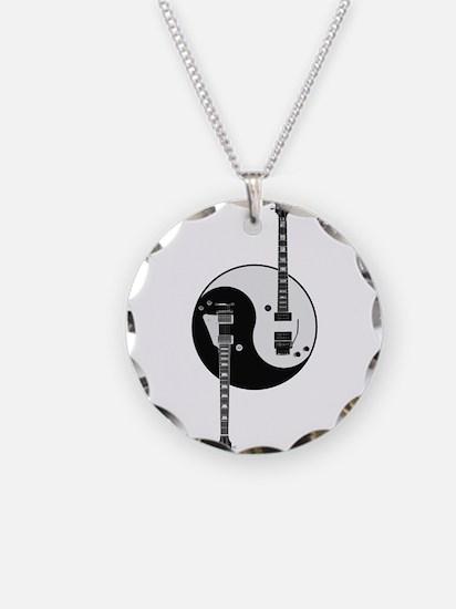 Yin Yang Guitars Necklace