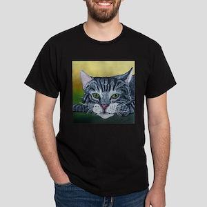 Grey Tabby Cat T-Shirt