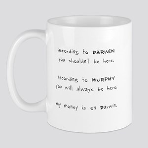 Murphy vs. Darwin Mug