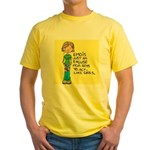Emo Is Just An Excuse For Boy Yellow T-Shirt