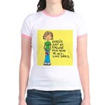 Emo Is Just An Excuse For Boy Jr. Ringer T-Shirt