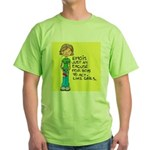 Emo Is Just An Excuse For Boy Green T-Shirt