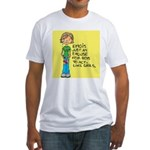 Emo Is Just An Excuse For Boy Fitted T-Shirt
